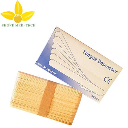 Disposable Wooden Tongue Depressor